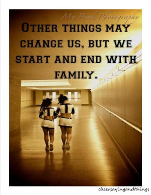 Cheer Family Quotes