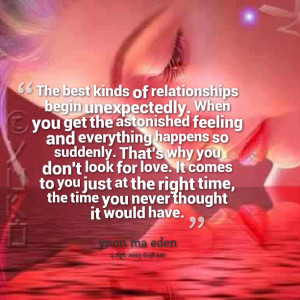... Galleries: Unexpected Relationship Quotes , Unexpected Love Quotes