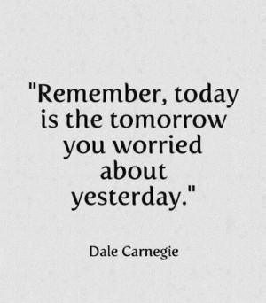 Dale Carnegie...no worries :-)