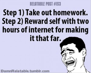 doing your homework funny quotes