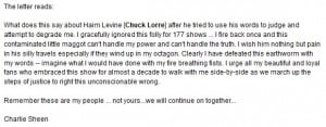 """Sheen rants against """"Two and a Half Men"""" creator Chuck Lorre ..."""