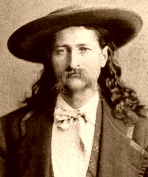 "JamesButler ""Wild Bill"" Hickok – one of the first of what became ..."
