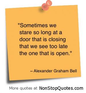Open Door Quotes. QuotesGram