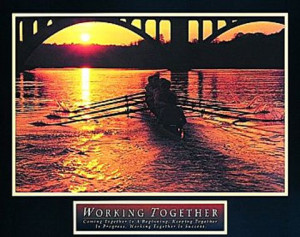 Related Pictures teamwork rowers art work on my inspirational quotes