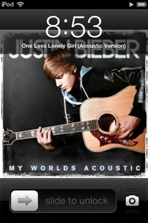 There's gonna be one less lonely girl