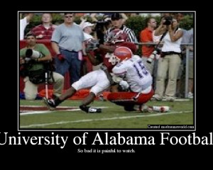 University of Alabama... )