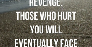 Don't Waste Your Time On Revenge