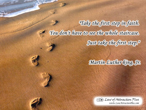 Free Law of Attraction Wallpaper with Quote by Martin Luther King Jr.