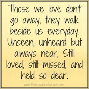 quotes about missing a loved one gallery for losing a loved one quotes ...
