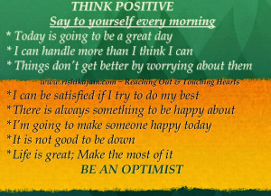 Post Title : Positive Thinking Quotes