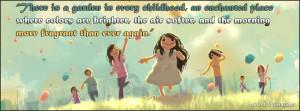 Childhood Facebook Cover