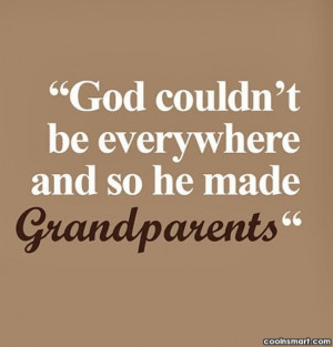 Grandparents Quotes and Sayings