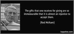 More Rod McKuen Quotes