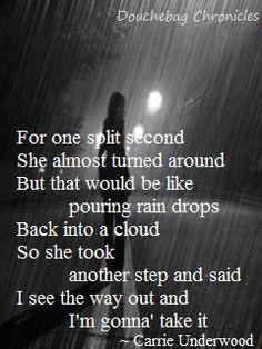 ... country breakup lyrics life underwood lyrics country heartbreak quotes