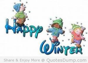 Happy Winter Quotes