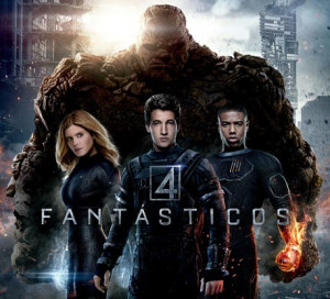 Book Lover: Weekend Movie: Los 4 Fantásticos.
