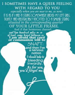 Jane Eyre art print, novel movie quotes, mr. rochester LOVE text words ...