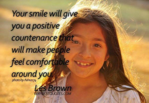 Positive attitude quotes your smile will give you a positive ...