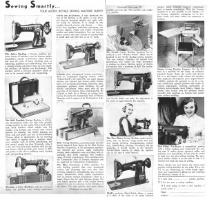 Thread: Sewing Machine Survey from 1953