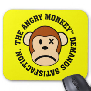 Funny Stupid Quotes Mouse Pads
