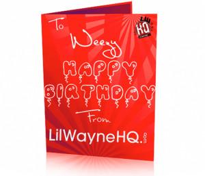 Happy 28th Birthday Lil Wayne!