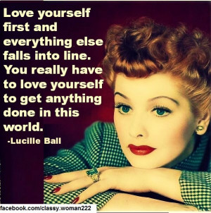 Lucille Ball Quotes https://www.facebook.com/classy.woman222