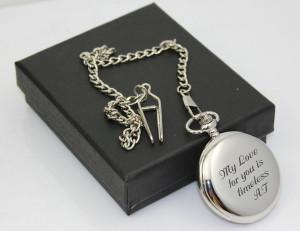 Silver Roman Pocket Watch