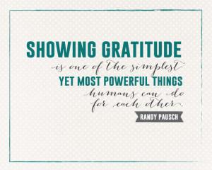 Sunday Encouragement: Showing Gratitude | landeelu.com