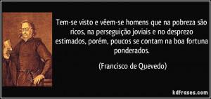 Mais frases populares de Francisco de Quevedo