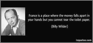 More Billy Wilder Quotes
