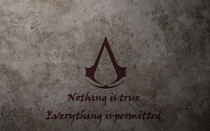 Assassins Creed quotes logos wallpaper background