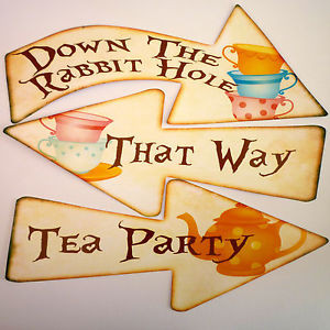 Alice-in-Wonderland-Signs-Arrows-Quote-Mad-Hatters-Tea-Party ...
