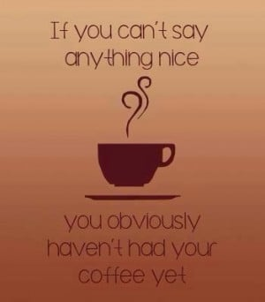 If you can't say something nice ...
