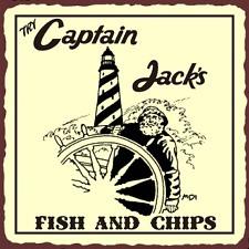 Jack Fish Chips Vintage...