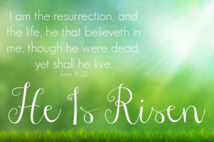 YW March Lesson #5 The Resurrection