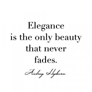 ... this image include: elegance, quote, audrey hepburn, beauty and audrey