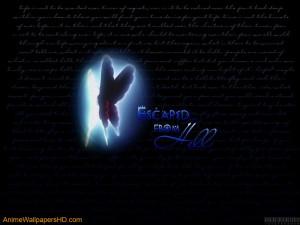 Download Bleach wallpaper, 'Death Butterfly'.