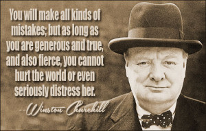 Winston Churchill's quote - Image Page