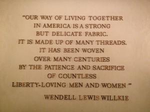 These are pictures of the quotes from notable Americans found in the ...