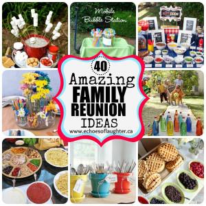 Ideas for Throwing a Family Reunion at Martha Stewart