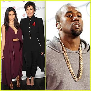 Kim Kardashian & Kanye West Bring AIDS Day Awareness Across the ...