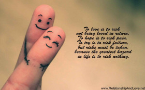 Quotes About Love And Life: True Quote About Love And Picture Of Happy ...