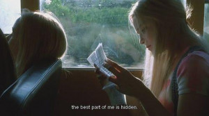 The best part of me is hidden