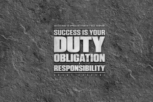 Success is Your Duty Screensaver