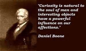Daniel Boone quotes