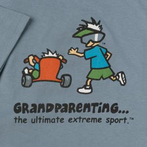 When grandparents enter the door, discipline flies out the window.