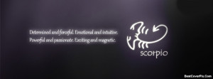 Zodiac Scorpio Facebook Covers – Horoscope Timeline Photos