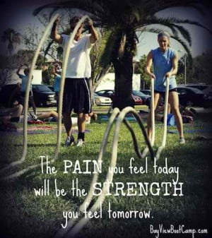 Fitness Motivational Quotes The Pain You Feel Today Will Be The ...