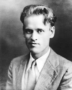Philo T. Farnsworth ca. 1926 - about the time he began to build the ...