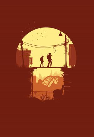 Minimal The Last of Us Posters